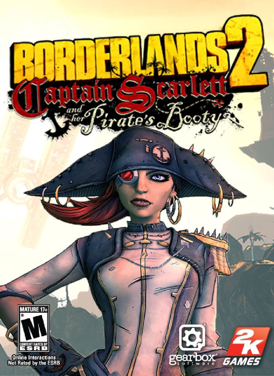 Captain Scarlett and Her Pirate's Booty - Borderlands 2 DLC