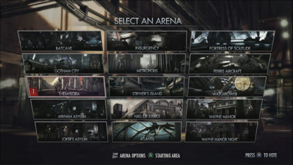 Arenas Injustice Gods Among Us Wiki Guide Gamewise - Injustice god among us buttom map