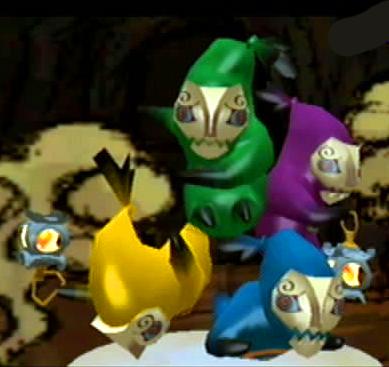 Poe - Normal Enemies - The Legend of Zelda: The Wind Waker Bestiary