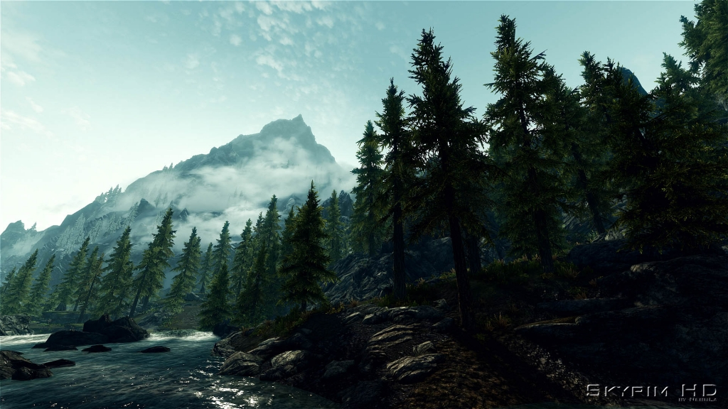 Skyrim HD - 2K Textures - Visual Mods - The Elder Scrolls V: Skyrim