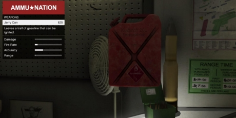 Jerry Can Explosives Thrown Grand Theft Auto V Weapons