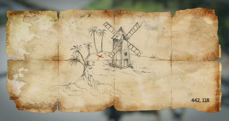 New Bone Treasure Maps Assassin s Creed IV Black Flag
