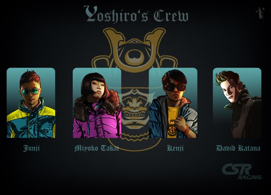 Tier 2 - Iron Samurai - CSR Racing Crews, CSR - Wiki Guide | Gamewise
