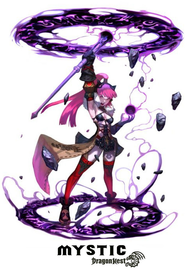 Mystic/Arcanist - Sorceress - Dragon Nest Classes - Wiki