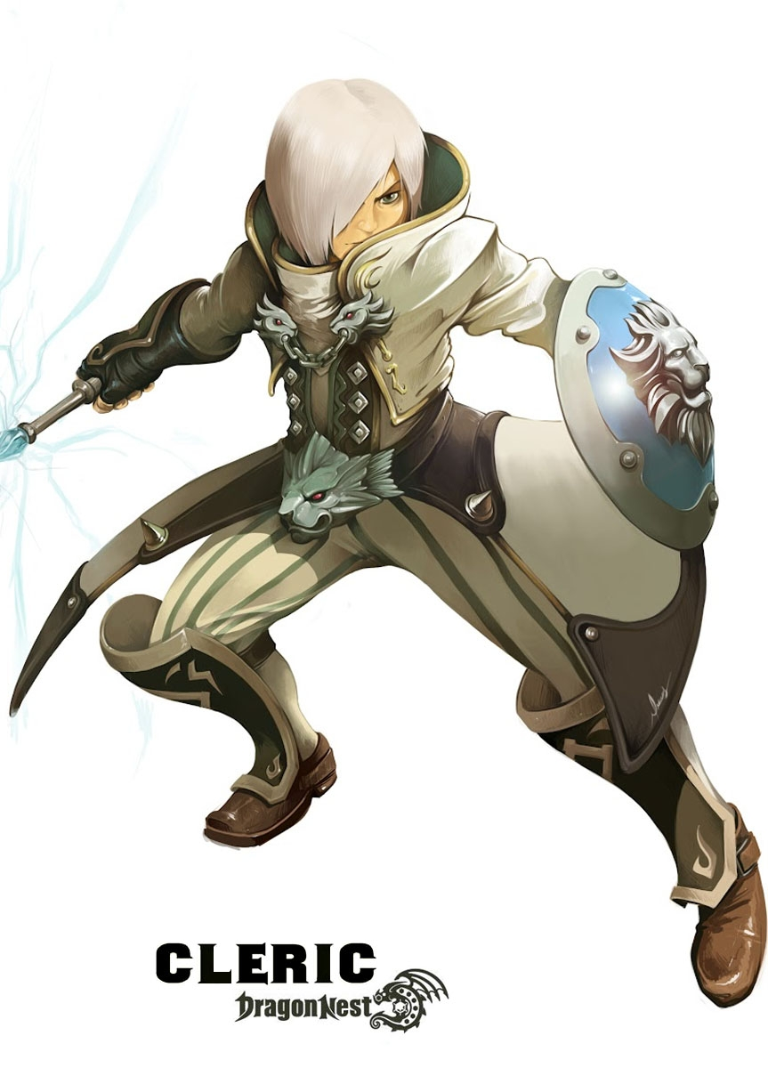 Cleric - Dragon Nest Classes - Wiki Guide | Gamewise