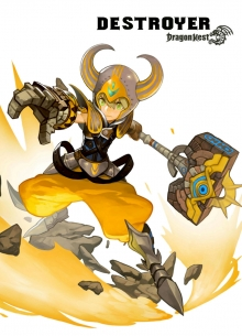 destroyer warrior dragon nest classes wiki guide
