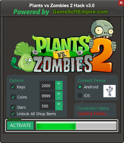 Plants vs zombies apk full hack | Plants VS Zombies 2 Hack