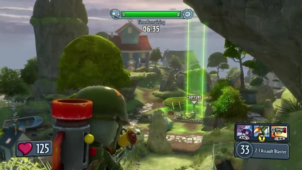 Gameplay - Plants vs. Zombies: Garden Warfare, PvZ: Garden Warfare ...