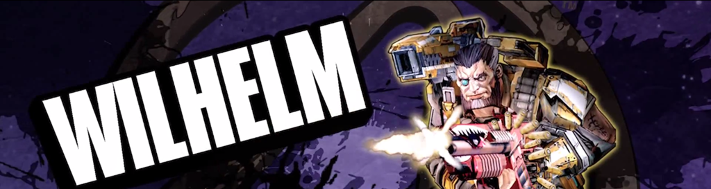 Wilhelm the Enforcer - Borderlands: The Pre-Sequel Classes